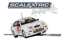 Scalextrix - C3781AE -Autograph Series Ford Sierra RS500 Robb GFravett