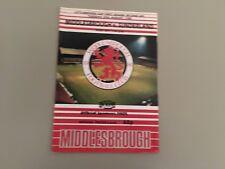 MIDDLESBROUGH V SUNDERLAND  LITTLEWOODS CUP 1987