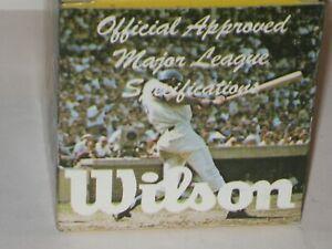 Vintage Wilson Official Major League Baseball A1010 in Original Box NOS
