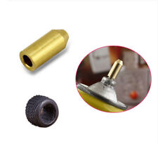 1Pc Brass Gas Refill Adapter + Friction Wheel For S T Dupont Lighter Repair Kit