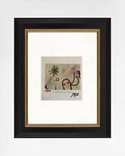 Joan Miró 1969 Original Print, Hand Signed with Certificate of Authenticity
