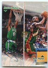 ANTOINE WALKER.  GARY PAYTON 1998/99 STADIUM CLUB CO-SIGNERS DUAL AUTOGRAPH