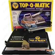 Top-O-Matic Best Cigarette Maker Tobacco Injector Machine Making King 100s 100mm