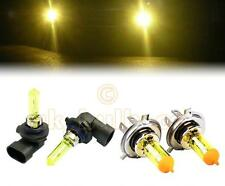 YELLOW XENON LOW + HIGH BEAM BULBS FOR Subaru Legacy Outback MODELS H4HB3