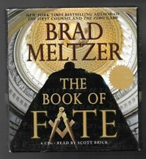 The Book of Fate by Brad Meltzer, Read by Scott Brick, 6CDs / 7.5 Hours, 2006