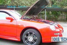 93-98 Toyota Celica GT-Four GT4 Shock Lift Black Damper Kit for Steel Hood
