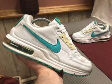 Nike Air Max LTD▪️Women's 9/Mens 7.5▪️White-Turquoise▪️312462-131▪️2006▪️💥WOW💥