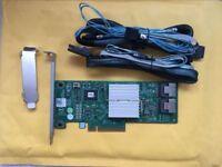 Dell Perc H310 SATA / SAS HBA Controller RAID 6Gb PCIe x8 + 1PCS 8087 SATA Cable