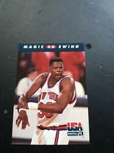 PATRICK EWING NBA CARD SKYBOX 1992-93 USA DREAM TEAM # 103 NEW YORK KNICKS HOF$$