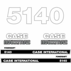 Case International 5140 tractor decal aufkleber adesivo sticker set