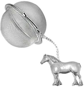 ppe05 Heavy Horse 2 inch Tea Ball Mesh Infuser Stainless Sphere Strainer