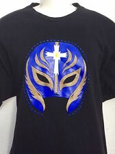 WWE WWF Authentic REY MYSTERIO The Mask Is Back 2 sided T-Shirt sz XL new NWOT