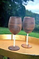 David Rasmussen Wooden Wine Glasses (2)