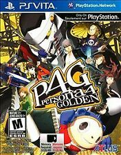 NEW Persona 4 Golden  (PlayStation Vita, 2012) NTSC