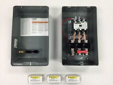 SQUARE D AIR COMPRESSOR MAGNETIC STARTER 5HP THREE PHASE 208-230 VOLT