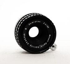 MEYER OPTIK GORLITZ Domiplan 50 mm 2.8 Premier objectif pour Exakta EX SLR Fit
