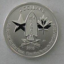 2015 Canada Uncirculated $2 Devils Brigade 1/2 Oz. Silver Coin