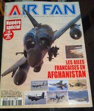 """Revue """"AIR FAN"""" N°376 Mars 2010 """"les ailes françaises en Afghanistan"""""""