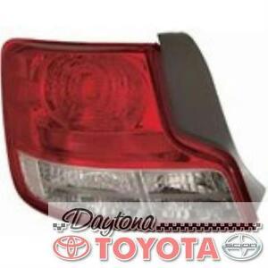 OEM SCION TC TAIL LIGHT DRIVER SIDE 81561-21320 FITS 2012-2014