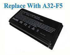 Batería For ASUS X59 X59G X59GL X59SL X59Sr PACK X58 X58le X50GL X50C F5RL A32F5
