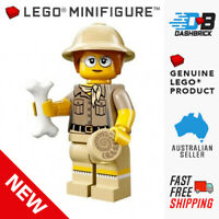 Genuine LEGO® Minifigure™ - Paleontologist, Series 13 Minifigures, #6 - NEW
