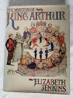 "Vintage History Book ""The Mystery of King Arthur"" Jenkins 1st American Ed. 1975"