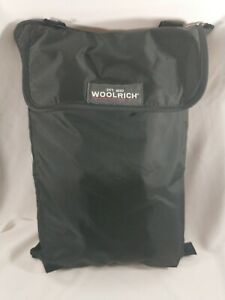 Woolrich Travel Stadium Fleece 50x68 Black/Red
