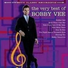 BOBBY VEE: THE VERY BEST OF 20 TRACK CD GREATEST HITS / NEW