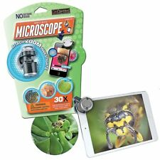 Geocentral Mobile Device Microscope Capture Nature Close Up for Kids Age 8+