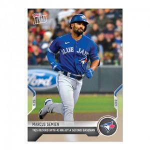 2021 Topps Now #862 Marcus Semien Toronto Blue Jays PRESALE