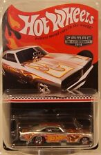Hot Wheels WALMART 2016 Mail In '69 Dodge Charger Funny Car Real Riders ZAMAC