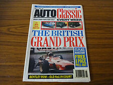 Auto Classic Newspaper: July 11th 1990: British Grand Prix, Bentley Row