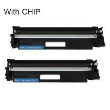 2pk CF230A 30A with Chip Toner Cartridge For HP LaserJet M203dw M203dn M227fdn
