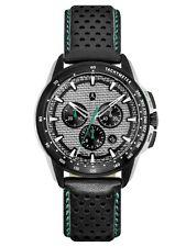 ori Mercedes Benz Chronograph Men's Calf leather Wristwatch Motorsports Petronas