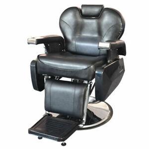Stations Salon Spa Equipment Hydraulic Recline Barber Chair Hair Beauty Stylist
