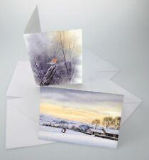 Frisk Watercolour Cards