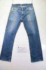 Levis 507 (Cod. F1843) Tg46 W32 L34  jeans usato vita alta bootcut