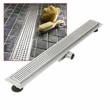 """1200mm Stainless Steel Long """"Rectangular"""" Wetroom / Shower Drainage System"""