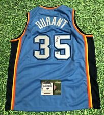 KEVIN DURANT AUTOGRAPHED OKLAHOMA CITY THUNDER JERSEY AASH