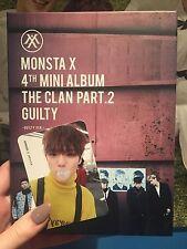 MONSTA X The Clan PART. 2 Guilty Minhyuk Photocard