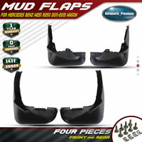 4pcs Front /& Rear Splash Guards Mud Flaps for Mercedes-Benz R350 11-2013 Wagon