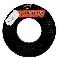 """Bon Jovi - Wanted Dead Or Alive - 7"""" Record Single"""