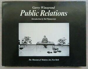 PUBLIC RELATIONS By Garry Winogrand ~ HC w DJ ~ Museum of Modern Art NYC ~ 1977
