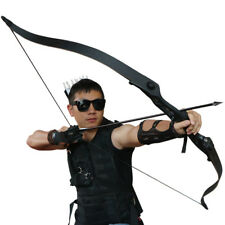 "Archery Takedown Recurve Bow Hunting Target Fishing 30lbs Right Hand 56"" Longbow"