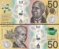 Australia New $5+$10+$20+$50 Polymer SET Stevens Lowe Gaetjens Issues +Pamphlets