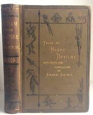 Antique VAMPIRE Richard Burton Vikram Tales of Hindu Devilry 1st Ed Illustrated