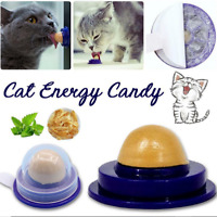 Cat Snack Catnip Sugar Candy Licking Nutrition Gel Energy Ball Toy Pet Supplies