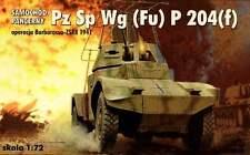 PANHARD PANZERSPAHWAGEN PZ.SP. WG (FU) 204(f) (GERMAN WEHRMACHT MKGS) 1/72 RPM