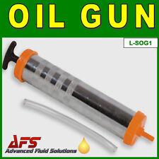 500cc Aceite Succión Pistola émbolo Mano operado Bomba Para Caja De Cambios De Llenado Y Vaciado