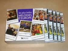 COFFRET 5 CD / LES PLUS BELLES MELODIES D'EUROPE / 126 TITRES / TRES BON ETAT